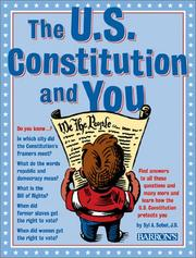 Cover of: The U.S. Constitution and you