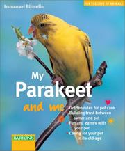 Cover of: My parakeet and me