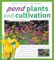 Cover of: Pond Plants and Cultivation (Water Garden Handbooks) | Philip Swindells