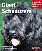 Cover of: Giant Schnauzers