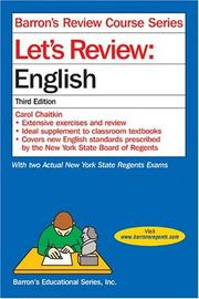 Cover of: Let's review | Carol Chaitkin