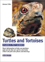 Cover of: Schildkrote: caring for them, feeding them, understanding them