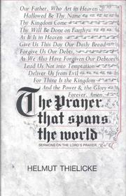 Cover of: The prayer that spans the world
