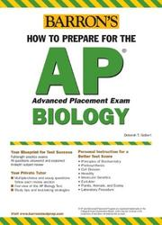Cover of: How to Prepare for the AP Biology (Barron