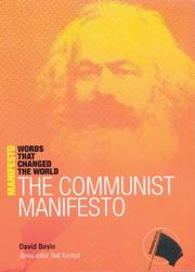 Cover of: The Communist Manifesto | David Boyle