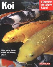 Cover of: Koi (Complete Pet Owner