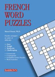 Cover of: French Word Puzzles (Foreign Language Word Puzzles)