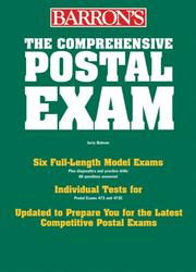 Cover of: The Comprehensive Postal Exam for 473/473-C | Jerry Bobrow