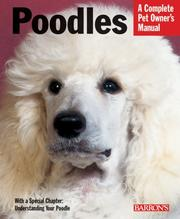 Cover of: Poodles (Complete Pet Owner's Manual)