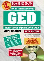 Cover of: How to Prepare for the GED w