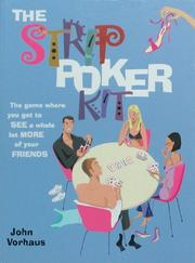 Cover of: The Strip Poker Kit