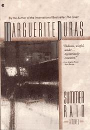 Cover of: Summer rain | Duras, Marguerite.