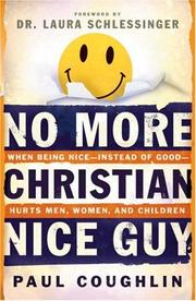 Cover of: No More Christian Nice Guy | Paul Coughlin
