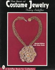 Cover of: The best of costume jewelry