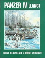 Cover of: Kampfpanzer IV (Lang) in combat