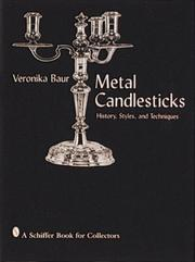 Cover of: Metal Candlesticks