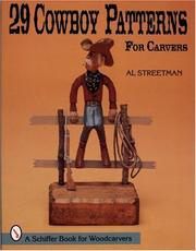 29 cowboy patterns for carvers by Al Streetman