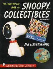 Cover of: The unauthorized guide to Snoopy collectibles