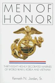 Cover of: Men of honor | Kenneth N. Jordan