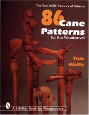 Cover of: 86 cane patterns for the woodcarver