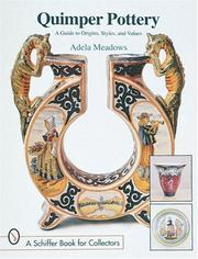 Cover of: Quimper pottery | Adela Meadows