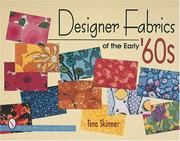 Cover of: Designer fabrics of the early '60s