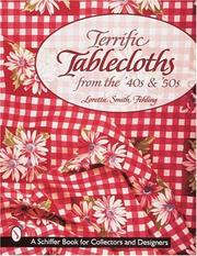 Cover of: Terrific Tablecloths from the '40s & '50s
