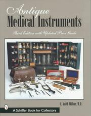 Cover of: Antique Medical Instruments | Keith Wilbur