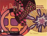 Cover of: Art deco textile designs