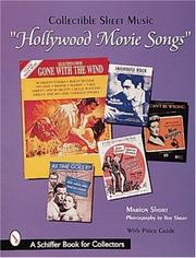 Cover of: Hollywood movie songs