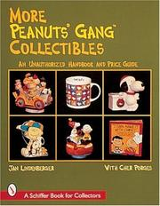 Cover of: More Peanuts Gang collectibles