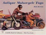Cover of: Antique motorcycle toys