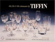 Cover of: 40s, '50s, & '60s stemware by Tiffin