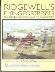 Cover of: Ridgewell's flying fortresses