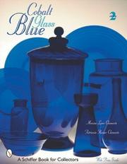 Cover of: Cobalt blue glass