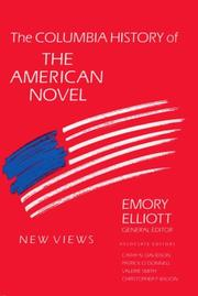 Cover of: The Columbia history of the American novel