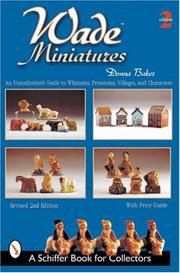 Cover of: Wade Miniatures | Donna S. Baker