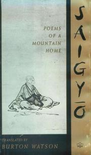 Cover of: Saigyō, poems of a mountain home