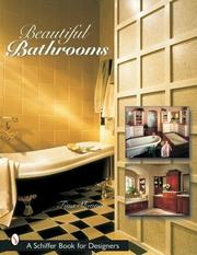 Cover of: Beautiful Bathrooms (Schiffer Book for Designers)