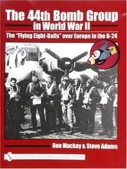 Cover of: The 44th Bomb Group in World War II