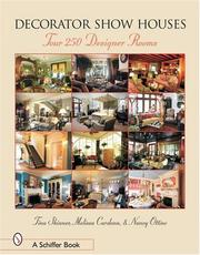Cover of: Decorator Show Houses: Tour 250 Designer Rooms