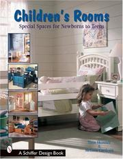 Cover of: Children's Rooms: From Newborns To Teens (Schiffer Design Book)