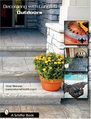 Cover of: Decorating With Concrete Outdoors: Driveways, Paths & Patios, Pool Decks & More