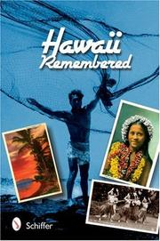 Cover of: Hawaii remembered: postcards from paradise