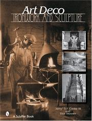 Cover of: Art Deco Ironwork & Sculpture