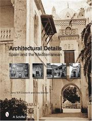 Cover of: Architectural Details: Spain And the Mediterannean