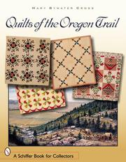 Cover of: Quilts of the Oregon Trail