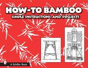 Cover of: How-to Bamboo: Simple Instructions And Projects