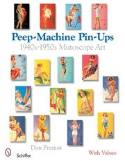 Cover of: Peep-Machine Pin-Ups | Don Preziosi