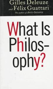 Cover of: What is philosophy?